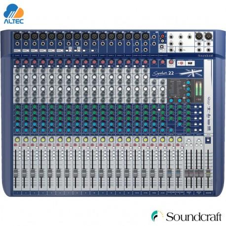 soundcraft signature 22 consola compacta de 22 canales. Black Bedroom Furniture Sets. Home Design Ideas